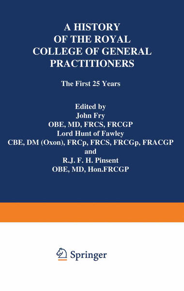 A History of the Royal College of General Practitioners - Coverbild