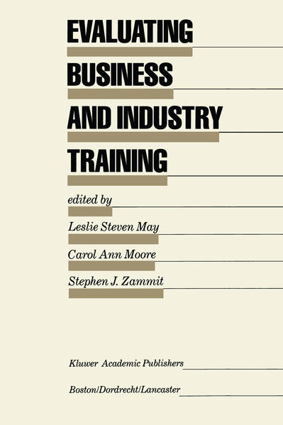 Evaluating Business and Industry Training - Coverbild