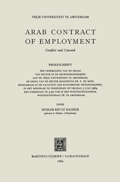 Arab Contract of Employment - Coverbild