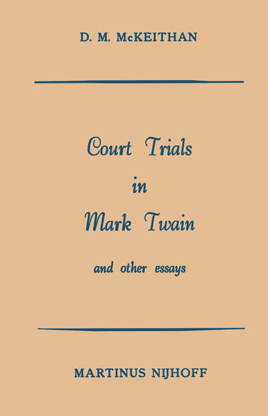 Court Trials in Mark Twain and other Essays - Coverbild