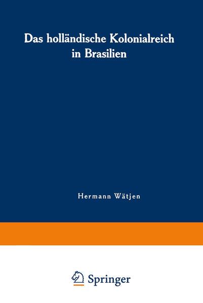Das holländische Kolonialreich in Brasilien - Coverbild