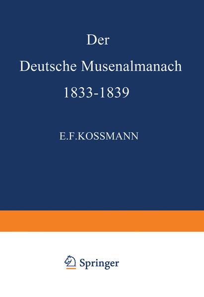 Der Deutsche Musenalmanach 1833–1839 - Coverbild