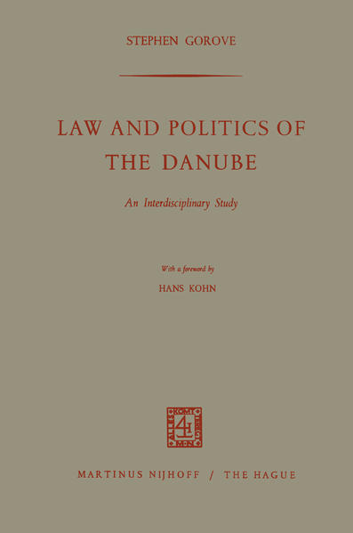 Law and Politics of the Danube - Coverbild
