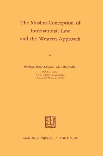 The Muslim Conception of International Law and the Western Approach - Coverbild