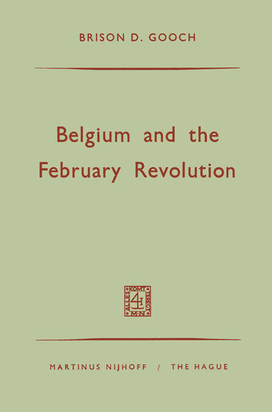 Belgium and the February Revolution - Coverbild