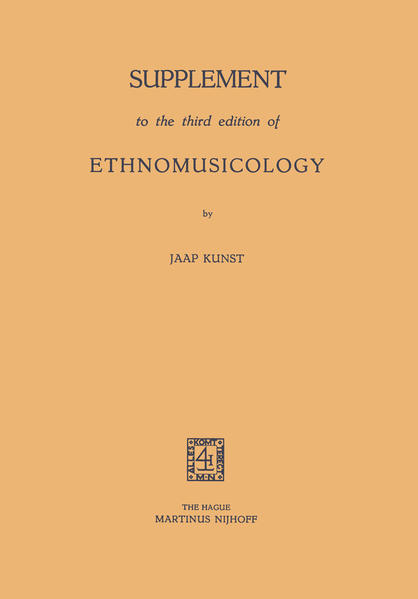 Supplement to the third edition of Ethnomusicology - Coverbild