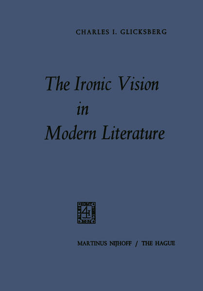 The Ironic Vision in Modern Literature - Coverbild
