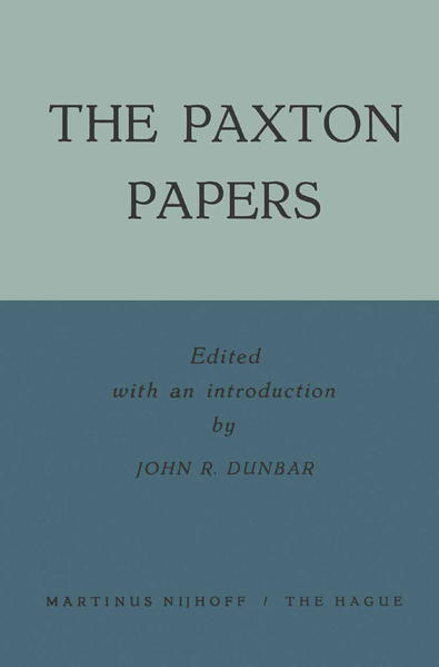 The Paxton Papers - Coverbild