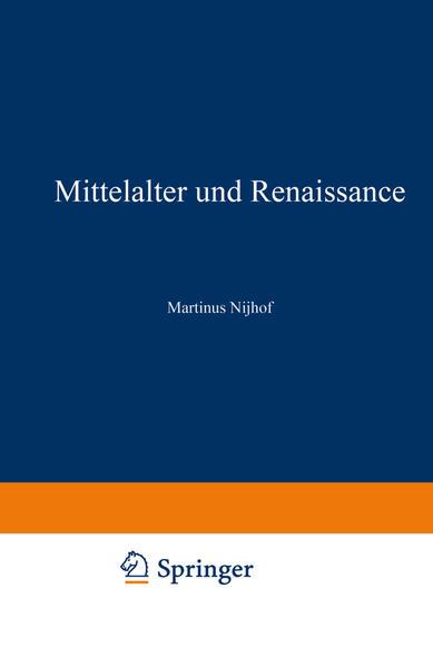 Mittelalter und Renaissance II - Coverbild