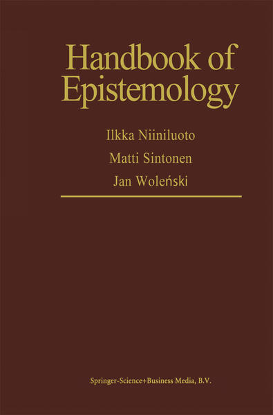 Handbook of Epistemology - Coverbild