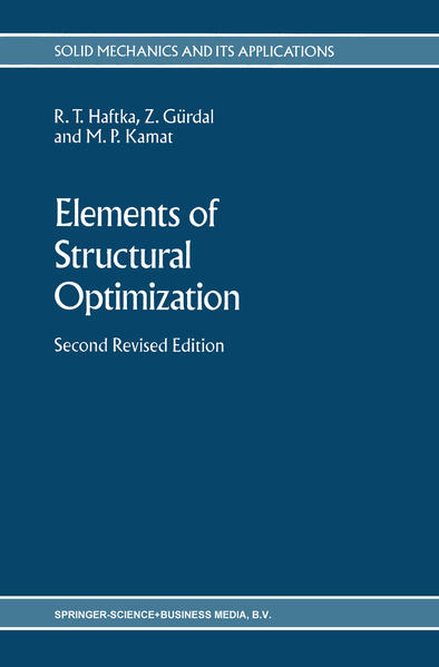 Elements of Structural Optimization - Coverbild