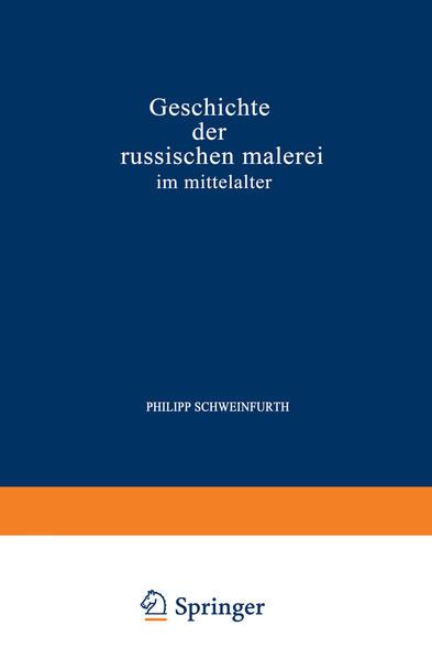 Geschichte der Russischen Malerei im Mittelalter - Coverbild