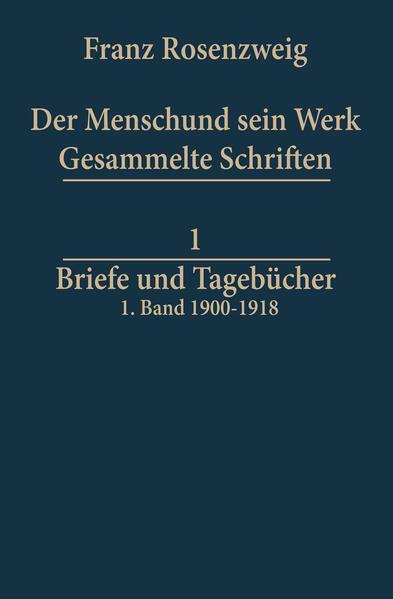 Briefe und Tagebücher - Coverbild