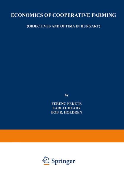 Economics of Cooperative Farming - Coverbild