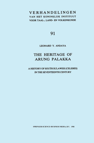 The Heritage of Arung Palakka - Coverbild