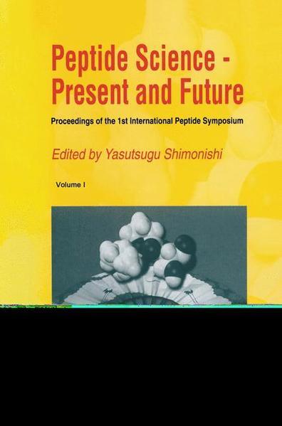 Peptide Science — Present and Future - Coverbild