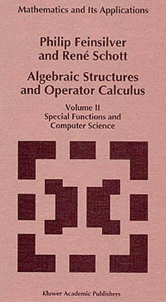Algebraic Structures and Operator Calculus - Coverbild