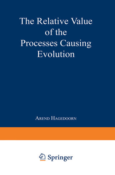 The Relative Value of the Processes Causing Evolution - Coverbild