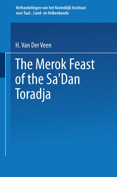 The Merok Feast of the Sa'Dan Toradja - Coverbild