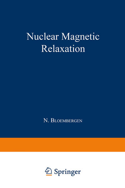 Nuclear Magnetic Relaxation - Coverbild