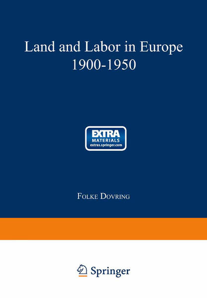 Land and Labor in Europe 1900–1950 - Coverbild