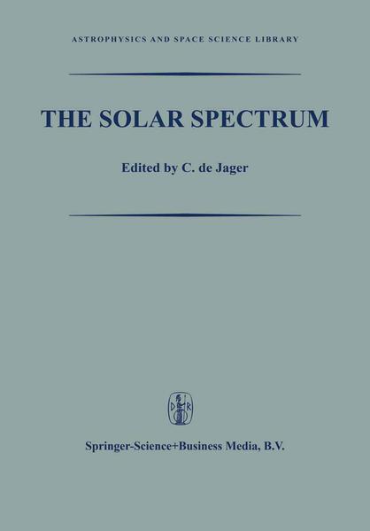 The Solar Spectrum - Coverbild
