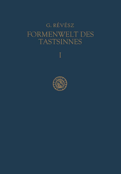 Die Formenwelt des Tastsinnes - Coverbild