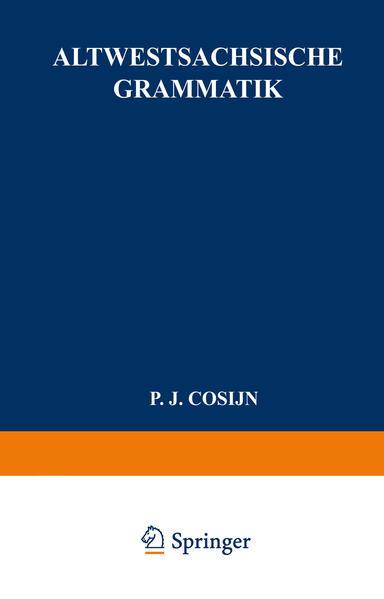 Altwestsächsische Grammatik - Coverbild