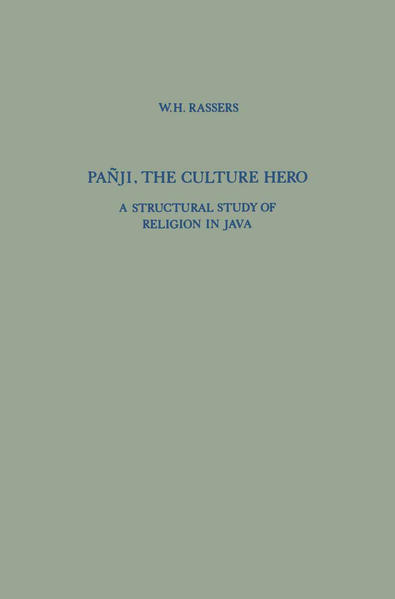 Pañji, The Culture Hero - Coverbild