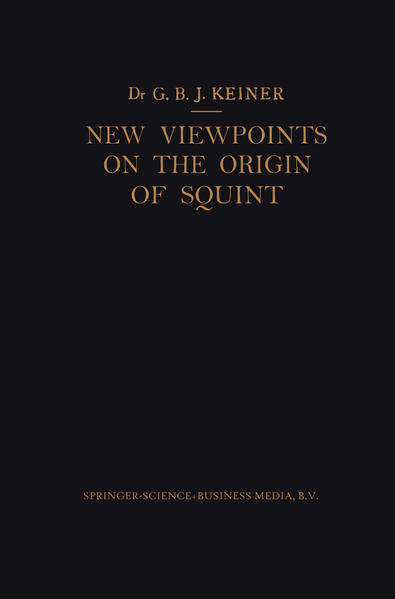 New Viewpoints on the Origin of Squint - Coverbild