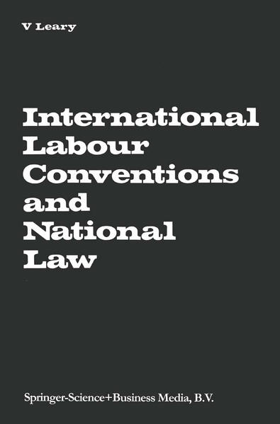 International Labour Conventions and National Law - Coverbild