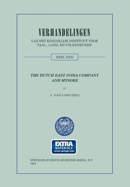 The Dutch East India Company and Mysore, 1762–1790 - Coverbild