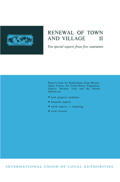 Renewal of Town and Village II - Coverbild