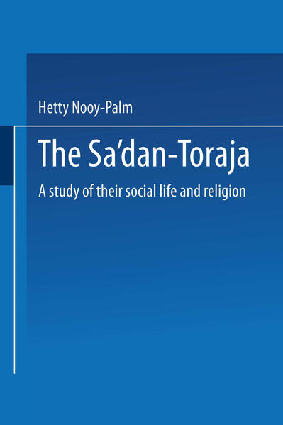 The Sa'dan-Toraja - Coverbild