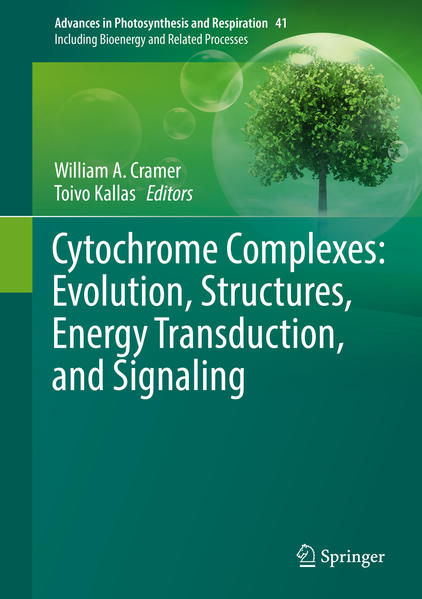 Cytochrome Complexes: Evolution, Structures, Energy Transduction, and Signaling - Coverbild