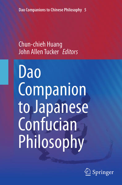 Dao Companion to Japanese Confucian Philosophy - Coverbild