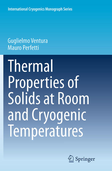 Thermal Properties of Solids at Room and Cryogenic Temperatures - Coverbild