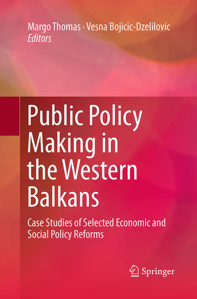 Public Policy Making in the Western Balkans - Coverbild