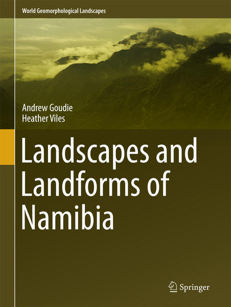 Landscapes and Landforms of Namibia - Coverbild