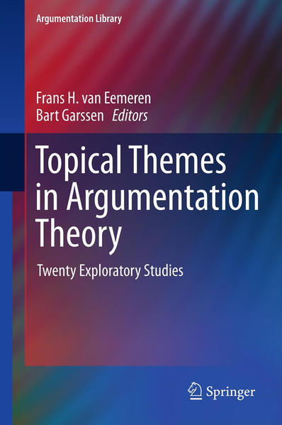 Topical Themes in Argumentation Theory - Coverbild