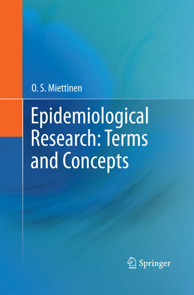Epidemiological Research: Terms and Concepts - Coverbild
