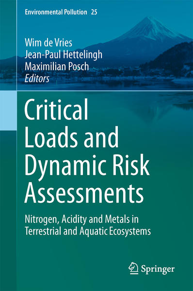Critical Loads and Dynamic Risk Assessments - Coverbild