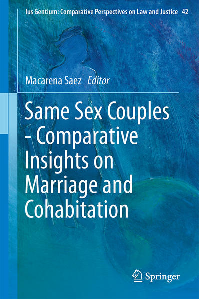 Same Sex Couples - Comparative Insights on Marriage and Cohabitation - Coverbild
