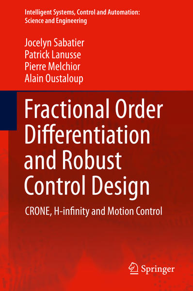 Fractional Order Differentiation and Robust Control Design - Coverbild