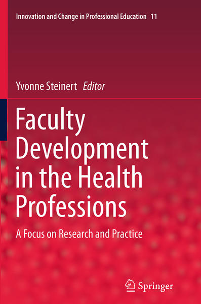Faculty Development in the Health Professions - Coverbild