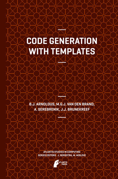 Code Generation with Templates - Coverbild