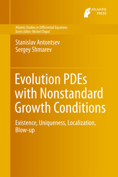 Evolution PDEs with Nonstandard Growth Conditions - Coverbild