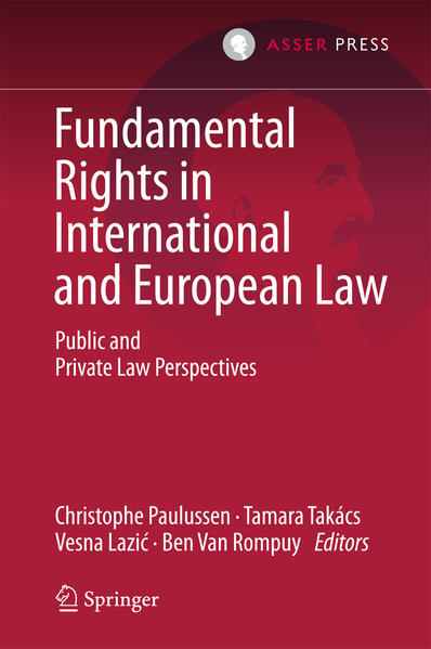 Fundamental Rights in International and European Law - Coverbild