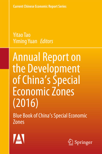Annual Report on the Development of China's Special Economic Zones (2016) - Coverbild