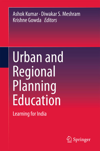 Urban and Regional Planning Education  - Coverbild